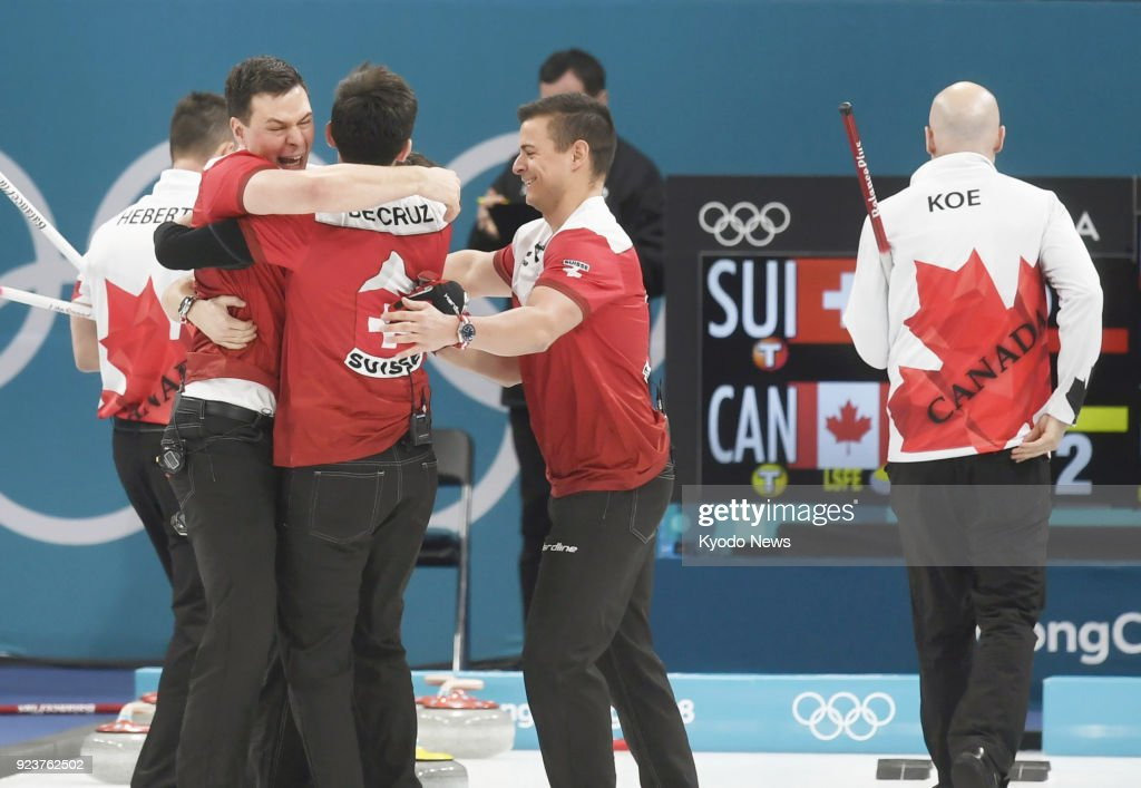 Image result for men's curling bronze medal match pyeongchang