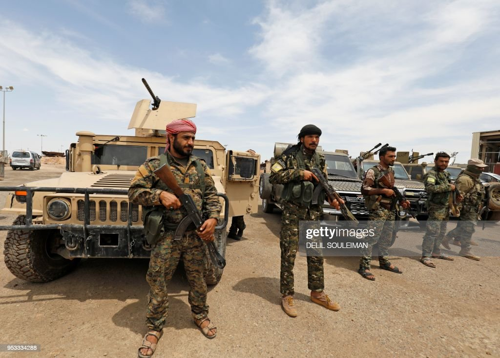 Syria-conflict-SYRIA-CONFLICT-KURDS : News Photo