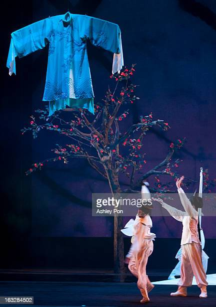 """Members of the Taiwan Guoguang Opera Company perform scenes from the """"Flowing Sleeves and Rouge"""" as part of the Taiwan International Festival of the..."""