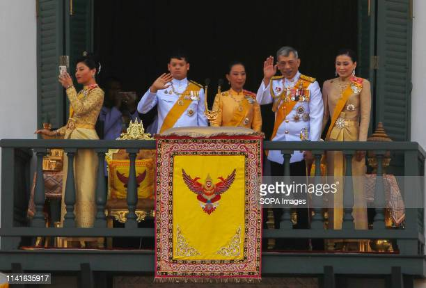 Members of the Thai royal family Princess Sirivannavari Nariratana Prince Dipangkorn Rasmijoti Princess Bajrakitiyabha King Maha Vajiralongkorn...