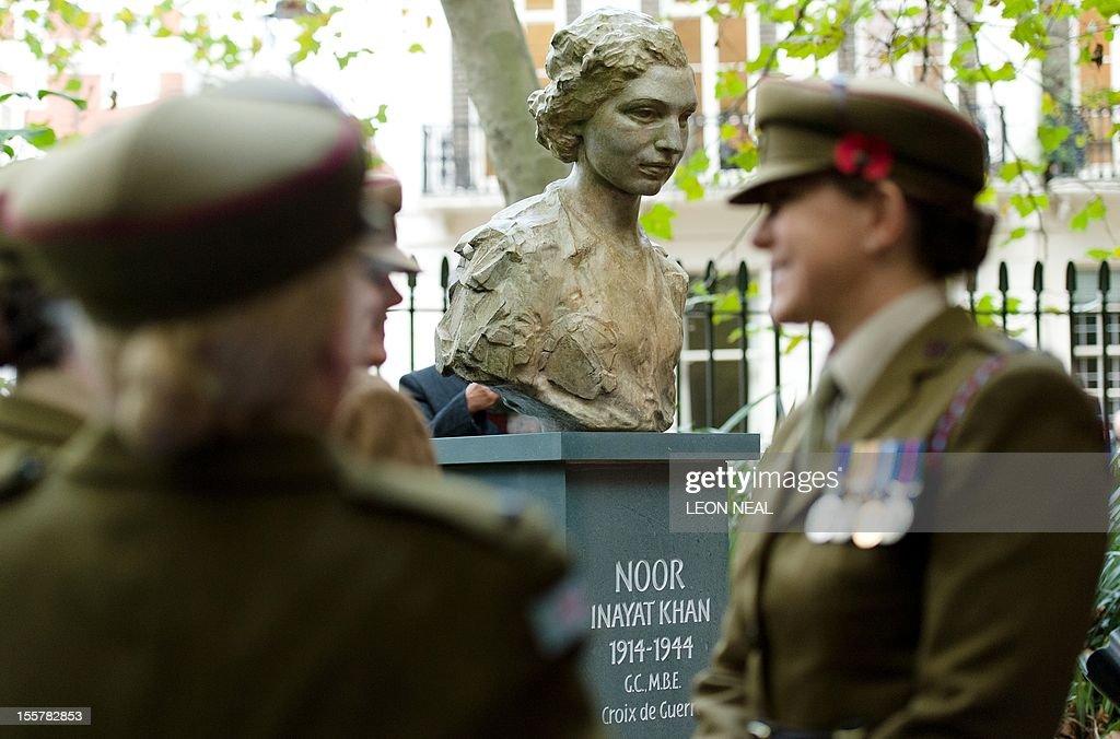 BRITAIN-INDIA-WAR-NOOR INYAT KHAN : News Photo