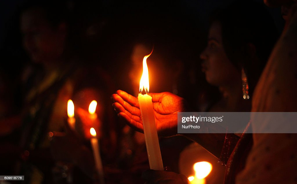 Tribute for died soldiers by the Pakistan militants attack : News Photo