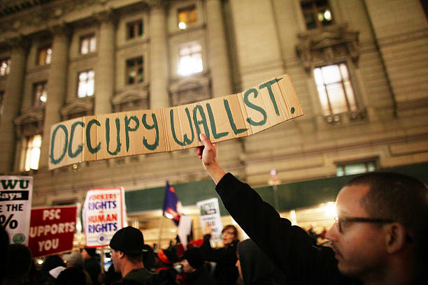 NY: 17th September 2011 - Occupy Wall Street Begins In Zuccotti Park In NYC