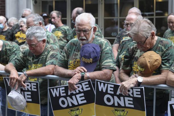 NY: United Mine Workers Of America Strike Against Warrior Met Coal At BlackRock