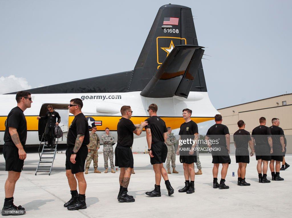 US-AIR-SHOW-CHICAGO : News Photo
