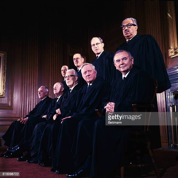 Members of the United States Supreme Court The Court's newest member Thurgood Marshall is the first African American to sit on the high tribunal The...
