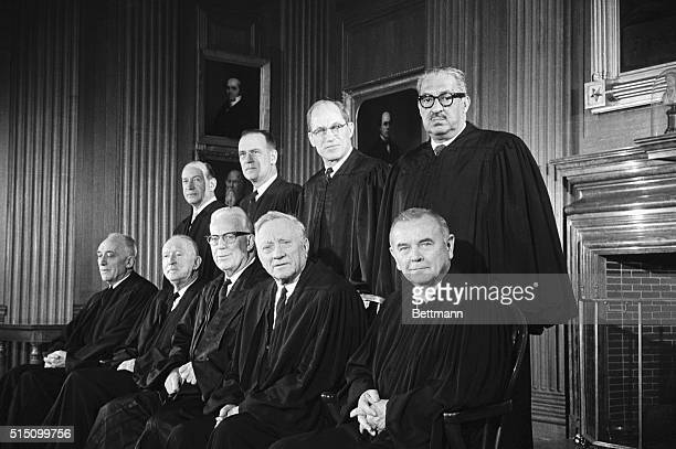 Members of the United States Supreme Court. The Court's newest member, Thurgood Marshall , is the first African American to sit on the high tribunal....