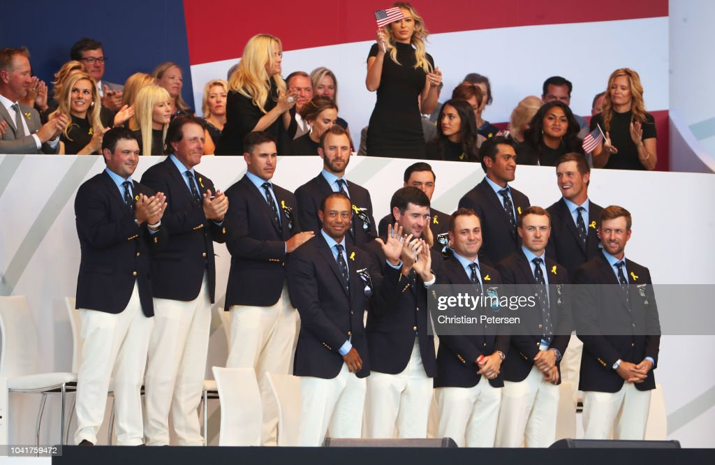 2018 Ryder Cup - Opening Ceremony : Photo d'actualité