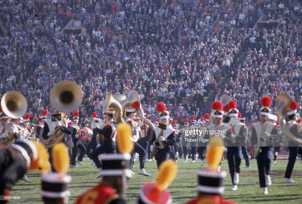 Super Bowl I Halftime Show : News Photo