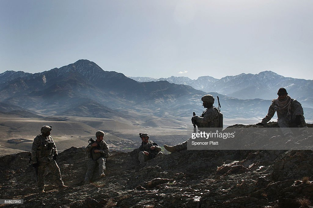 US Army Patrols In Afghanistan's Restive Nuristan Province : News Photo