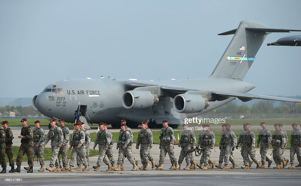 U.S. Infantry Troops Arrive In Poland For Exercises : News Photo