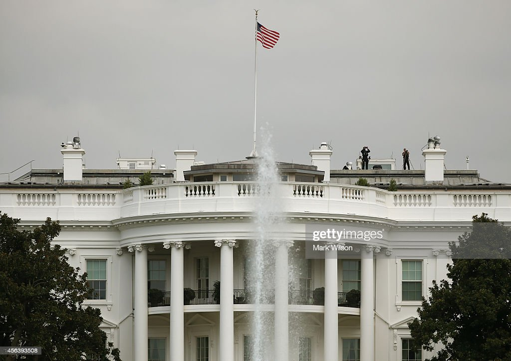 Fence Jumper Got Further Into White House Than Previously Reported : News Photo