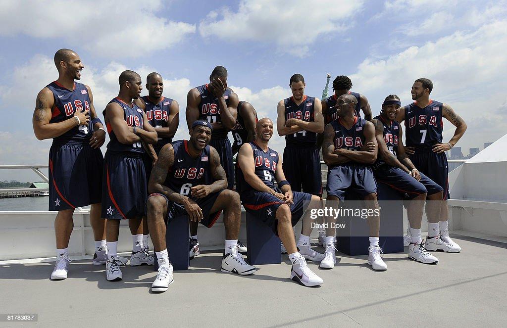USA Basketball Senior Men's Team Media Tour : ニュース写真