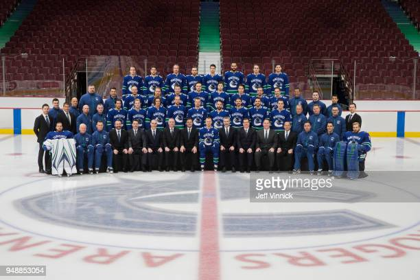 Members of the Vancouver Canucks Front Row Jacob Markstrom Doug Jarvis Assistant Coach Newell Brown Assistant Coach Jonathan Wall Director of Hockey...