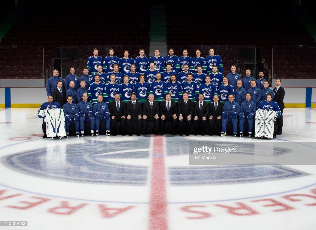 Vancouver Canucks 2018-19 Team Photo : News Photo