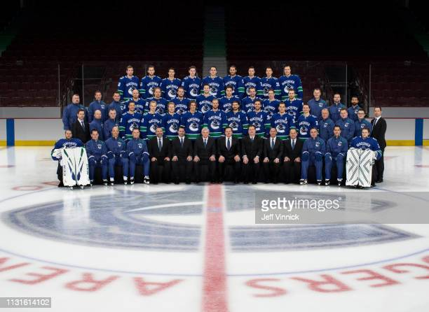 Members of the Vancouver Canucks Front Row Jacob Markstrom Ian Clark Goaltending Coach Manny Malhotra Assistant Coach Newell Brown Assistant Coach...
