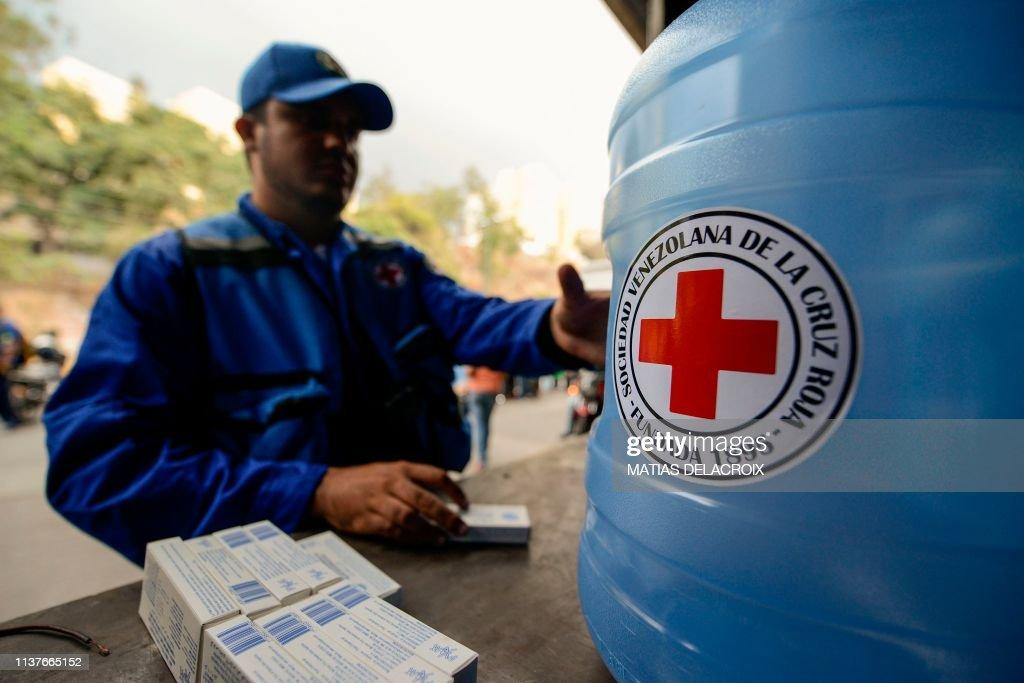 VENEZUELA-CRISIS-AID : Fotografía de noticias