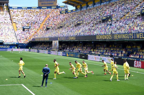 ESP: Villarreal CF v C.A. Osasuna - La Liga Santander