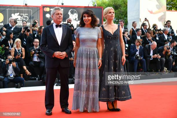 Members of the Virtual Reality jury jury President Danish director and screenwriter Susanne Bier Italian writer Alessandro Baricco and French actress...