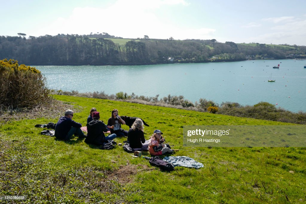 Easter Sunday In England Under Eased Lockdown Rules : News Photo