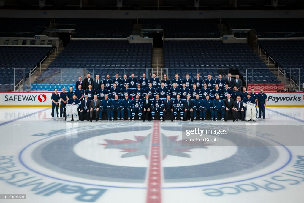 members-of-the-winnipeg-jets-pose-for-the-official-20192020-team-on-picture-id1224926426