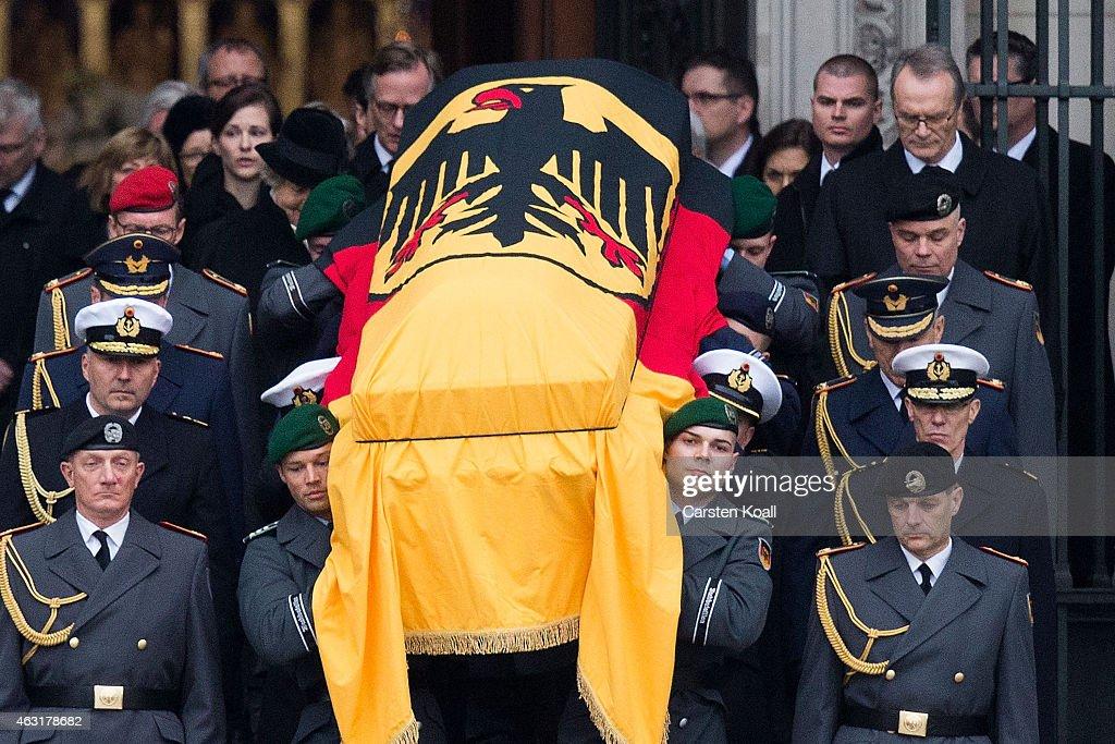 Richard von Weizsaecker State Memorial Service : News Photo