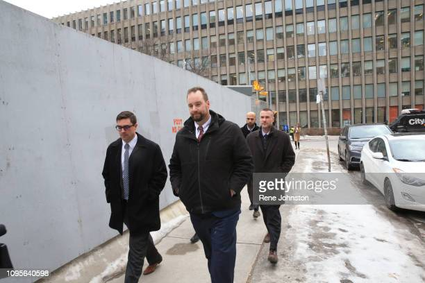 TORONTO ON Members of Toronto Polices' Project Prizm leave the sentencing for serial killer Bruce McArthur at 361 University Ave