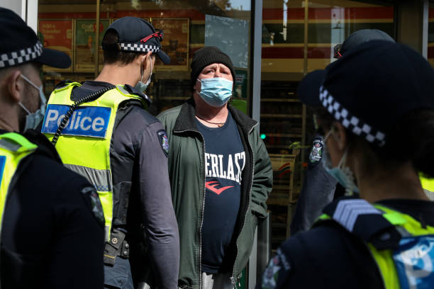 AUS: Victoria Police Brace For Further Unrest Following Days Of Protests In Melbourne