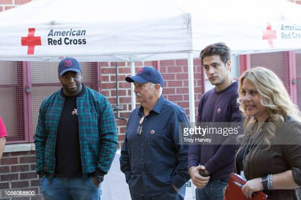 STATION 19 Members of ABC's 'Station 19' partnered with The American Red Cross for a fire safety event at Station 98 in Pacoima CA where Miguel...