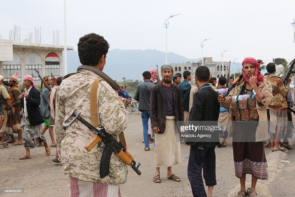 Pro-Hadi forces seize districts in Yemen's Ibb : News Photo