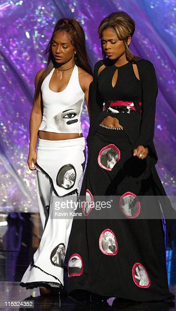 TLC members Rozonda Chilli Thomas left Tionne TBoz Watkins and MTV announce a $25000 AIDS educational scholarship in honor of late TLC member Lisa...