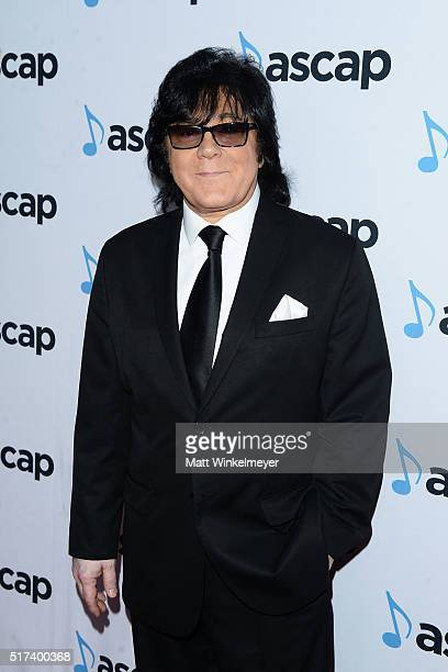 EVP Membership John Titta arrives at the 2016 ASCAP Screen Music Awards at The Beverly Hilton Hotel on March 24 2016 in Beverly Hills California