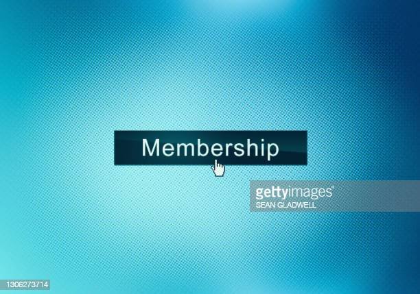 membership website button - organised group stock pictures, royalty-free photos & images