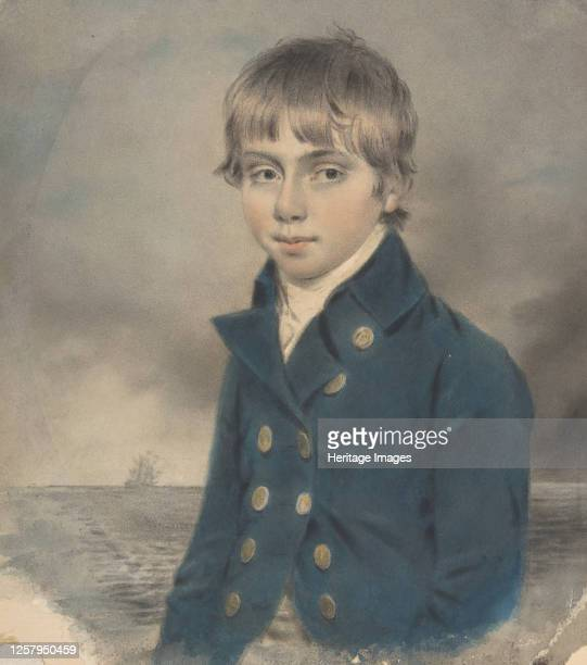 Memento Portrait of a Young MidshipMan late 18thearly 19th century Artist John Downman