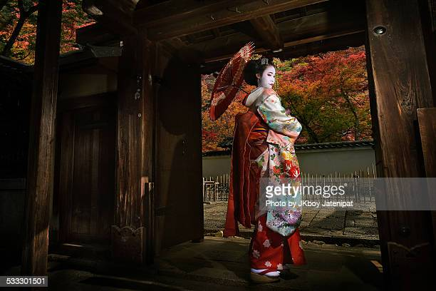memoirs of a geisha - kyoto prefecture stock pictures, royalty-free photos & images