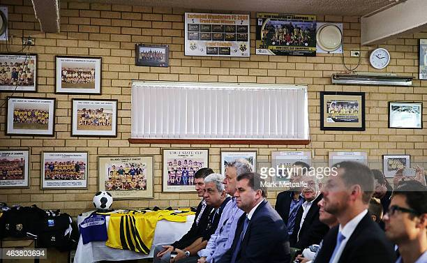 Memorabilia is seen in the clubhouse during the official launch of the 2015 FFA Cup at Earlwood Wanderers FC Club House on February 19 2015 in Sydney...