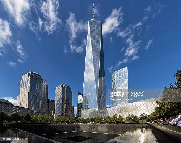 9/11 memorial and wtc 1 - one world trade center stock pictures, royalty-free photos & images