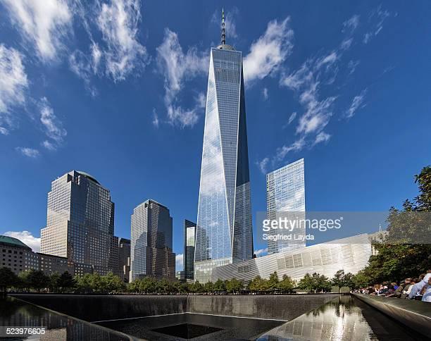 9/11 Memorial and WTC 1