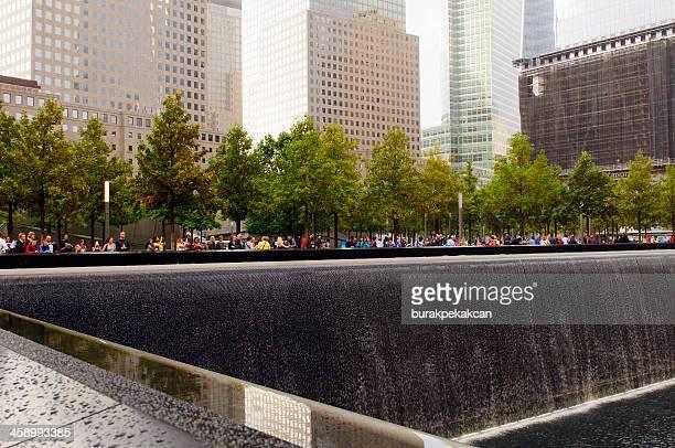 Memorial at World Trade Center Ground Zero, New York City