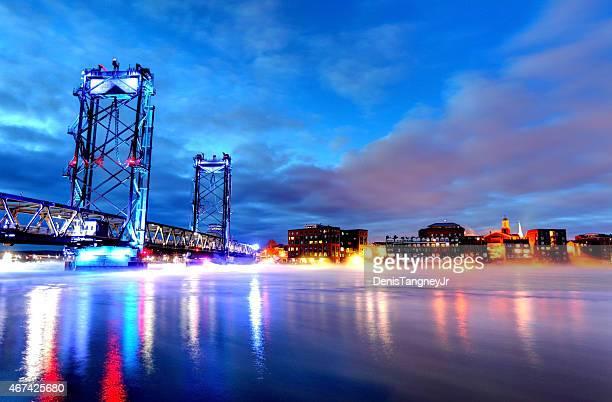 Memorial Bridge in Portsmouth New Hampshire