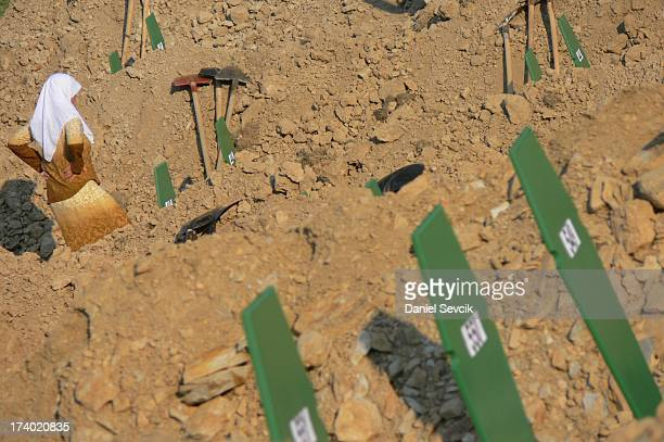 16th anniversary of Srebrenica massacre