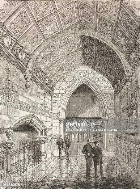 Memorial chapel erected at Windsor to the memory of the officers and men of the First Life Guards fell in the Egyptian campaign, United Kingdom,...