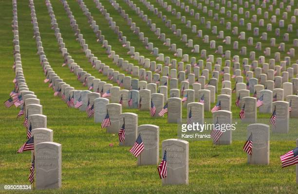 Memorial Day at Los Angeles National Cemetery