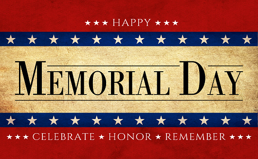 USA Memorial Day background 1139509466