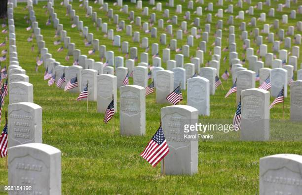 memorial day honors us veterans - rest in peace stock pictures, royalty-free photos & images