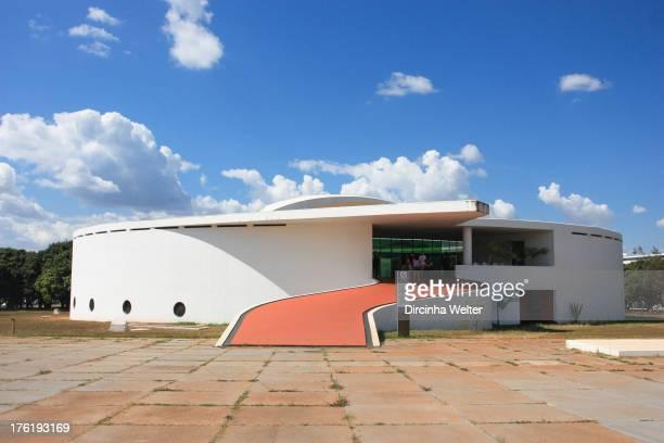 Memorial dos Povos Indígenas está localizado em Brasília, Foi projetado pelo arquiteto Oscar Niemeyer e construído em 1987. The Memorial of...