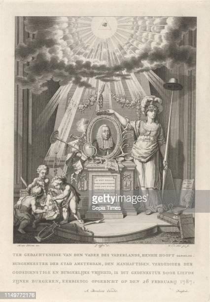 Memorial for Henry Hooft Danielsz., Noach van der Meer , Albrecht Borchers, 1787