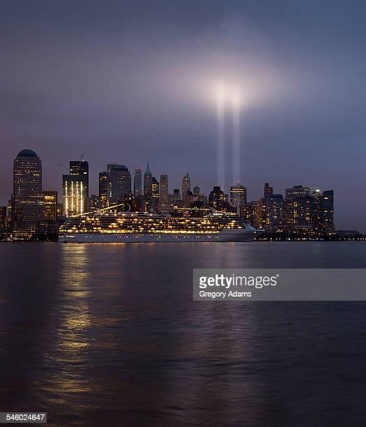 9-11 Memorial in Light