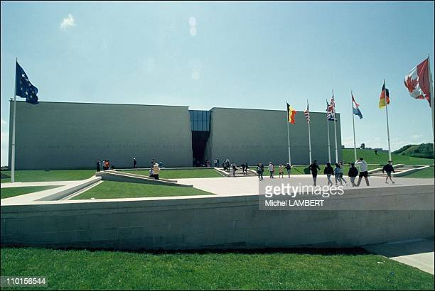 Memorial museum of Caen in Caen France on May 29 1994