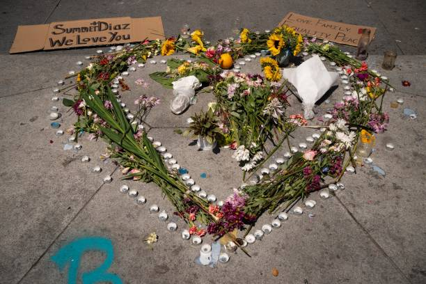WA: People In Seattle Mourn After Protester Hit By Car Dies